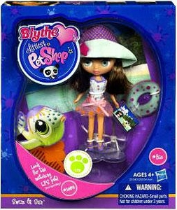 Littlest Pet Shop Blythe Loves Singles Series 1 Doll Figure Swim & Sun [Pet Not Included!]