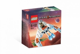 LEGO Mars Mission Mini Figure Set #5619 Crystal Hawk