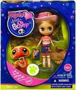 Littlest Pet Shop Blythe Loves Singles Series 1 Doll Figure Desert Fun [Pet Not Included!]