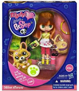 Littlest Pet Shop Blythe Loves Singles Series 1 Doll Figure Outdoor Afternoon [Pet Not Included!]