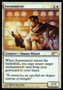 Magic the Gathering Other Promo Card Auramancer [WPN Foil]