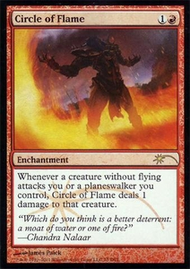 Magic the Gathering Other Promo Card Circle of Flame [WPN Foil]