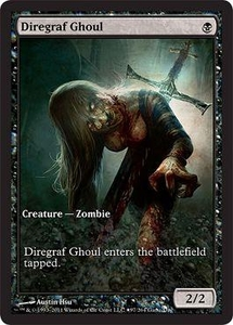 Magic the Gathering Other Promo Card Diregraf Ghoul [Innistrad Game Day]
