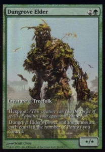 Magic the Gathering Other Promo Card Dungrove Elder [Magic 2012 Game Day]