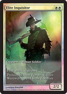 Magic the Gathering Other Promo Card Elite Inquisitor [Innistrad Game Day]
