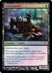 Magic the Gathering Other Promo Card Gravecrawler [Dark Ascension Box Promo]
