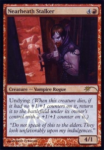 Magic the Gathering Other Promo Card Nearheath Stalker [WPN Promo]