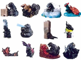 Godzilla Chibi-Style Mini PVC Set of 12 Figures