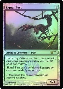 Magic the Gathering Other Promo Card Signal Pest [WPN Foil]