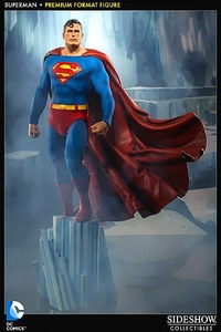 DC Sideshow Collectibles 1/4 Scale Premium Format Statue Superman Pre-Order ships July