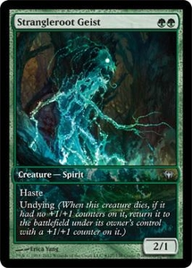 Magic the Gathering Other Promo Card Strangleroot Geist [Dark Ascension Game Day]