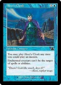 Magic the Gathering Prophecy Single Card Common #29 Alexi's Cloak