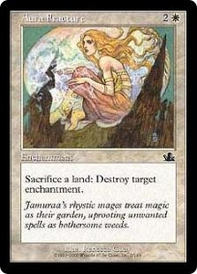 Magic the Gathering Prophecy Single Card Common #2 Aura Fracture