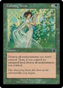 Magic the Gathering Prophecy Single Card Common #110 Calming Verse