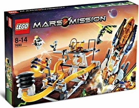 LEGO Mars Mission Set #7690 MB-01 Eagle Command Base