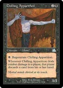 Magic the Gathering Prophecy Single Card Uncommon #59 Chilling Apparition