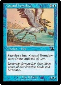 Magic the Gathering Prophecy Single Card Common #31 Coastal Hornclaw