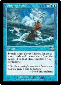 Magic the Gathering Prophecy Single Card Rare #32 Denying Wind