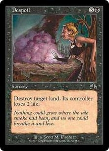 Magic the Gathering Prophecy Single Card Common #62 Despoil