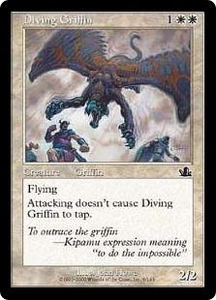 Magic the Gathering Prophecy Single Card Common #6 Diving Griffin
