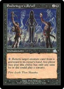 Magic the Gathering Prophecy Single Card Uncommon #63 Endbringer's Revel
