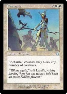Magic the Gathering Prophecy Single Card Uncommon #7 Entangler