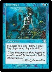 Magic the Gathering Prophecy Single Card Uncommon #33 Excavation