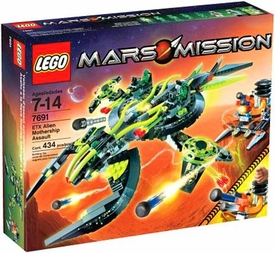 LEGO Mars Mission Set #7691 EXT Alien Mothership Assault