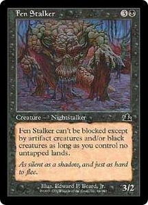 Magic the Gathering Prophecy Single Card Common #64 Fen Stalker