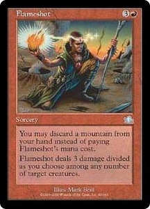 Magic the Gathering Prophecy Single Card Uncommon #90 Flameshot