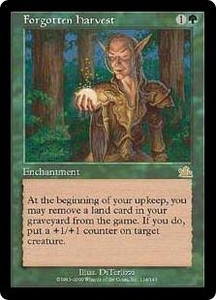 Magic the Gathering Prophecy Single Card Rare #114 Forgotten Harvest Played Condition Not Mint