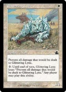 Magic the Gathering Prophecy Single Card Common #11 Glittering Lynx