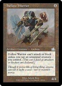 Magic the Gathering Prophecy Single Card Uncommon #138 Hollow Warrior