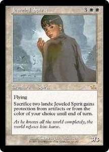 Magic the Gathering Prophecy Single Card Rare #12 Jeweled Spirit