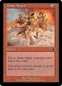 Magic the Gathering Prophecy Single Card Common #98 Panic Attack