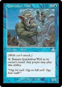 Magic the Gathering Prophecy Single Card Uncommon #41 Quicksilver Wall
