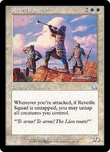 Magic the Gathering Prophecy Single Card Uncommon #18 Reveille Squad