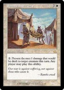 Magic the Gathering Prophecy Single Card Rare #21 Samite Sanctuary