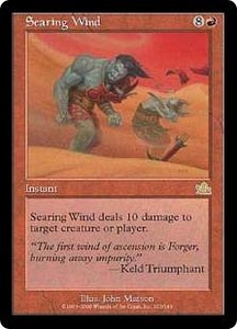 Magic the Gathering Prophecy Single Card Rare #103 Searing Wind
