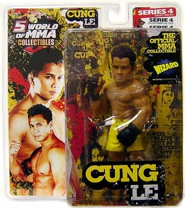 Round 5 World of MMA Champions UFC Exclusive Limited Edition Action Figure Cung Le [Yellow Shorts] BLOWOUT SALE!