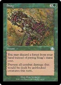 Magic the Gathering Prophecy Single Card Uncommon #124 Snag