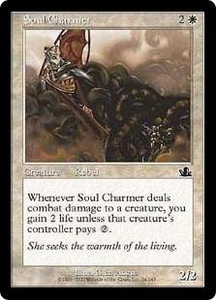 Magic the Gathering Prophecy Single Card Common #24 Soul Charmer