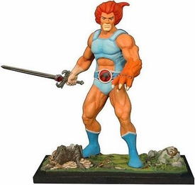 Icon Heroes Thundercats 6 Inch Poly Resin Statue Lion-O [Long Sword] BLOWOUT SALE!