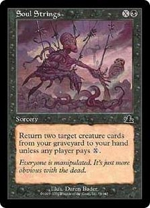 Magic the Gathering Prophecy Single Card Common #78 Soul Strings