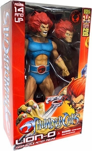 Mezco Thundercats 2011 SDCC San Diego Comic Con Exclusive Mega Scale 14 Inch Action Figure Lion-O with Alternate Head Variant