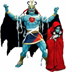 Thundercats Mezco Toyz 2012 SDCC San Diego Comic Con Exclusive Mega Scale Deluxe Figure 2-Pack MUMM-RA [Decayed Form & Ever Living]