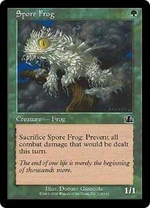 Magic the Gathering Prophecy Single Card Common #126 Spore Frog