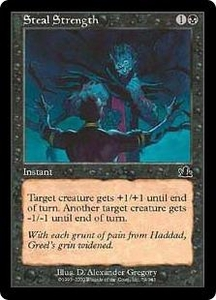 Magic the Gathering Prophecy Single Card Common #79 Steal Strength