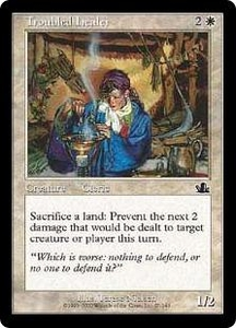 Magic the Gathering Prophecy Single Card Common #27 Troubled Healer