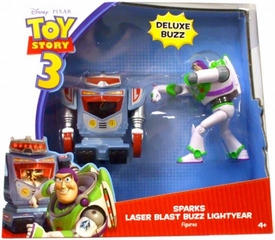 Disney / Pixar Toy Story 3 Deluxe Action Figure 2-Pack Sparks & Laser Blast Buzz Lightyear